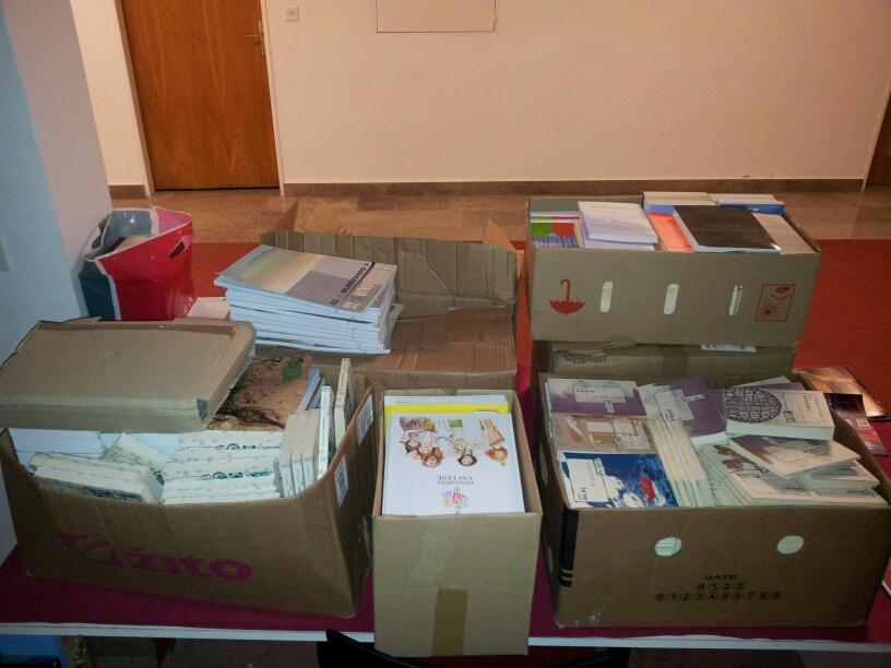 podarjene knjige