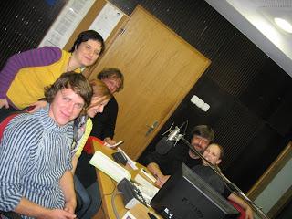 na radiu pri olimpijki Tjaši Razdevšek